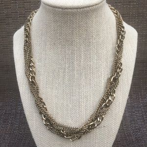 Jewelry - Multi Chains Gold Tone Necklace